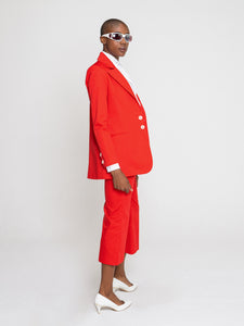 Karina Jacket Ferrari Red