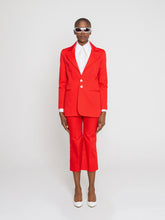 Load image into Gallery viewer, Karina Jacket Ferrari Red