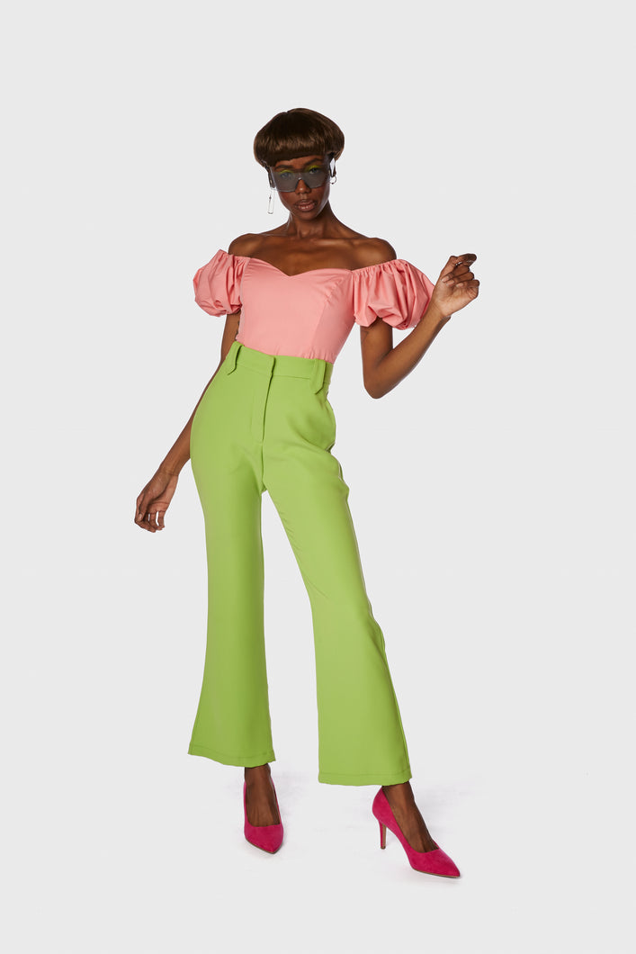 Dallas Pant Kiwi Green