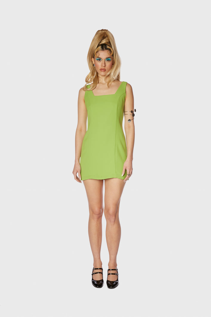 Katrin Dress Kiwi Green