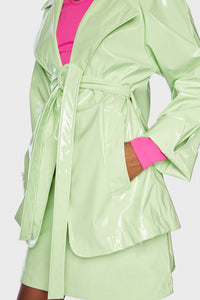 Theia Jacket Pistachio Green
