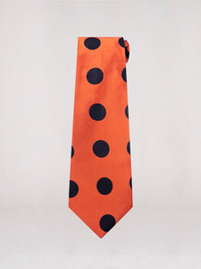 Maxime Neck Tie Large Polka Dot
