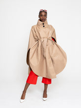 Load image into Gallery viewer, Rebecca Cape Coat Tan