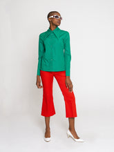 Load image into Gallery viewer, Sonia Shirt Emerald Green