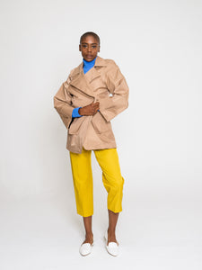 Theia Jacket Tan