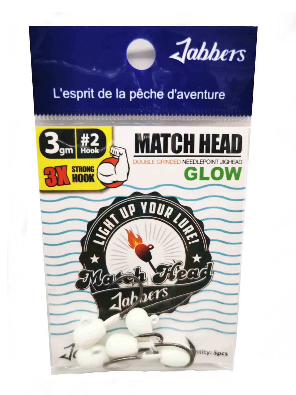Jabbers Match Head glow