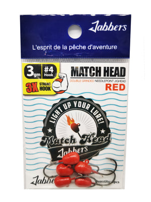 Jabbers Match Head #4 3gr