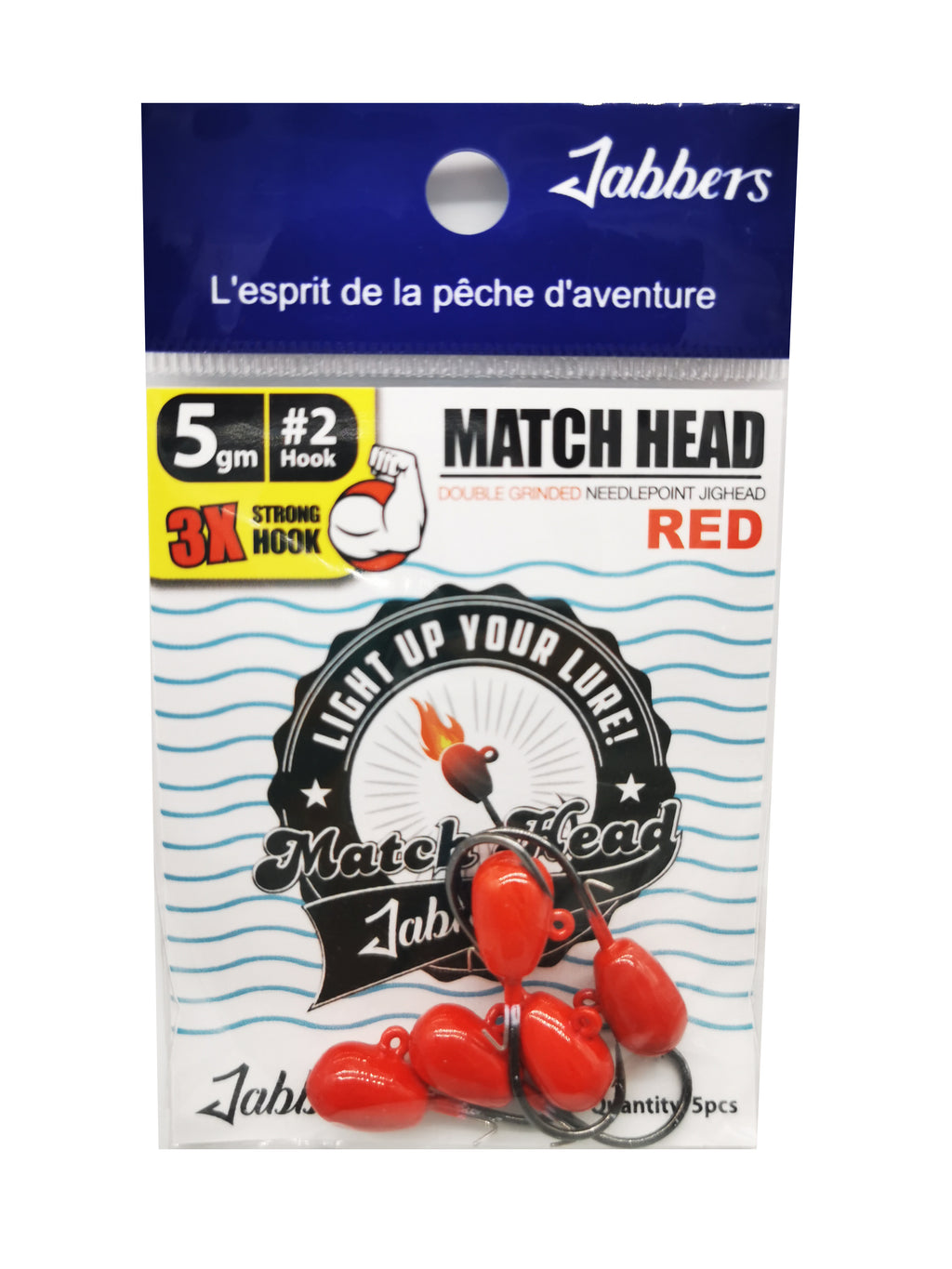 Jabbers Match Head #2 5gr