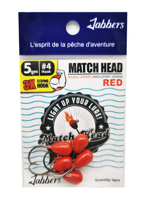 Jabbers Match Head #4 5gr