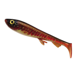 Wolfcreek Shad 23cm #WC003 BLOODY MOTOROIL PIKE
