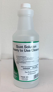 Quat Solution - Cleaner 32 Oz-EZM017