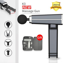 Load image into Gallery viewer, Lifetime Warranty K3 Muscle Massage Gun Body Massager Portable and light  Electric Massage Muscle Pain Relief  Relaxing Massage - Top Tier Epic