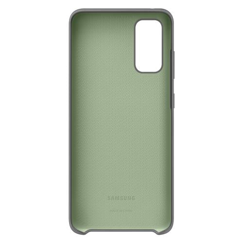 Silikon Back Cover gray (Samsung Galaxy S20)