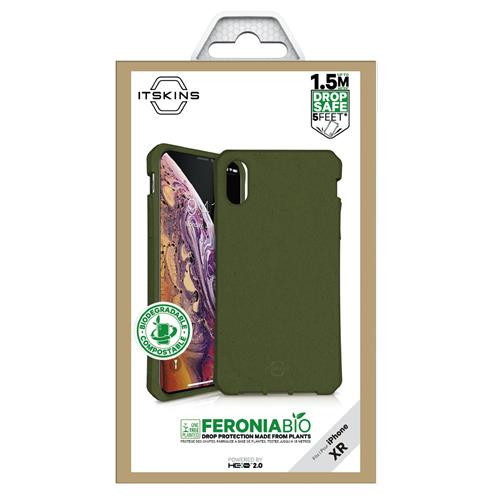Soft Cover bio kaki (Apple iPhone XR)