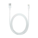 Apple - (2m) Lightning USB Ladekabel white