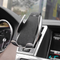Wireless Car-Charging-Holder silver