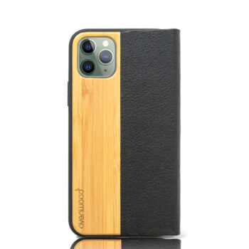 Book Cover PURE Avenwood Bambus (Apple iPhone 12 Pro)
