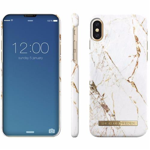 Back Cover iDeal of Sweden carrara gold (Apple iPhone X)