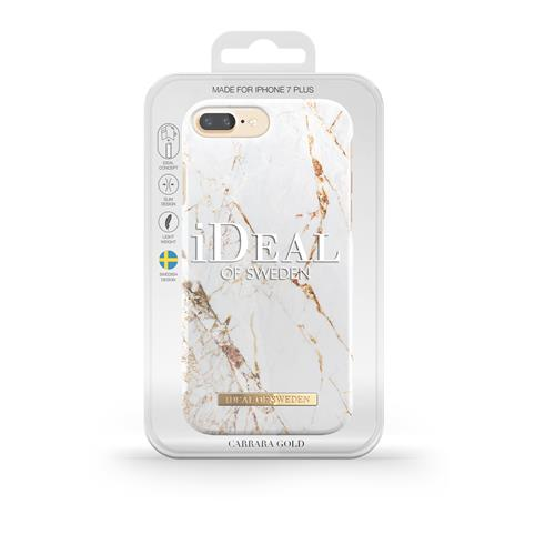 Back Cover iDeal of Sweden carrara gold (Apple iPhone 8 Plus / 7 Plus / 6S Plus / 6 Plus)