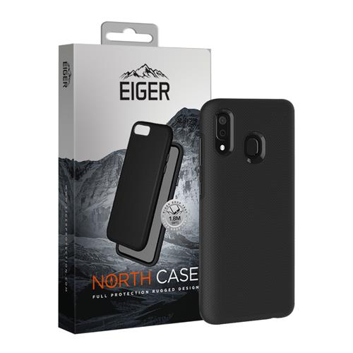 Back Cover Outdoor EIGER North black  (Samsung Galaxy A20e)
