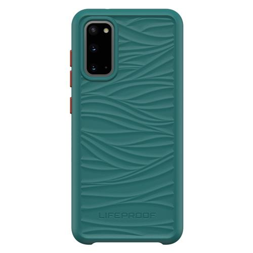 Hard Cover Wake green - Ocean-Recycling (Samsung Galaxy S20)