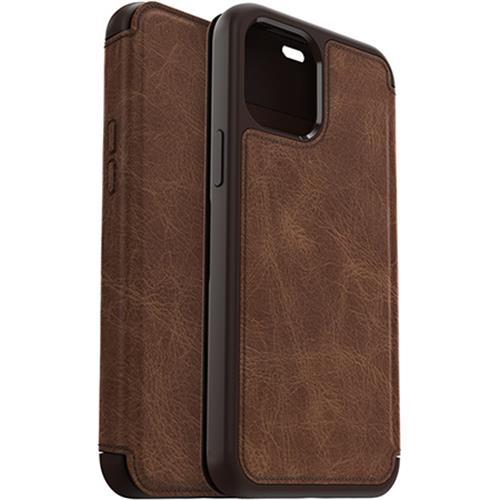 Book Cover strada espresso (Apple iPhone 12 Pro Max)