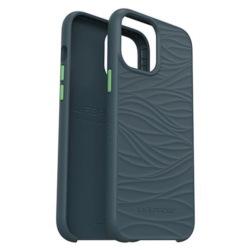 Hard Cover Wake gray- Ocean-Recycling (Apple iPhone 12 / 12 Pro)