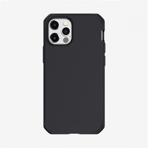 Back Cover SPECTRUM SOLID plain black (Apple iPhone 12 Pro Max)