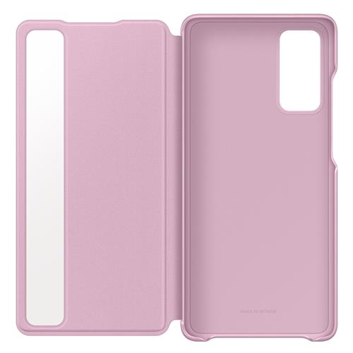 Book Cover smart view pink (Samsung Galaxy S20 FE / S20 FE 5G)
