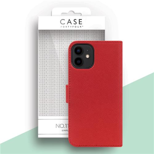 Book Cover red (Apple iPhone 12 Mini)