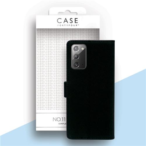 Book Cover black (Samsung Galaxy Note 20)