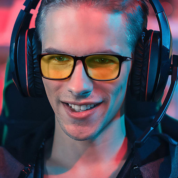 Blizzard - Adults Professional Gaming Glasses Blue Light Blocking Glasses For Man