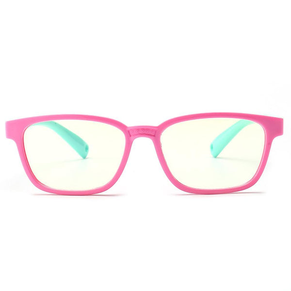 Candy - (Age 3-6)Kids Blue Light Blocking Computer Reading Gaming Glasses - Pink