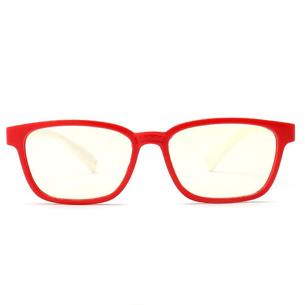 Candy - (Age 3-6)Kids Blue Light Blocking Computer Reading Gaming Glasses - Red