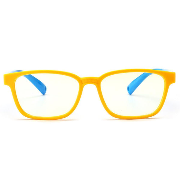 Candy - (Age 3-6)Kids Blue Light Blocking Computer Reading Gaming Glasses - Yellow