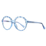 Mori - Fashion Blue Light Blocking Computer Reading Gaming Glasses - Transparent Light Blue
