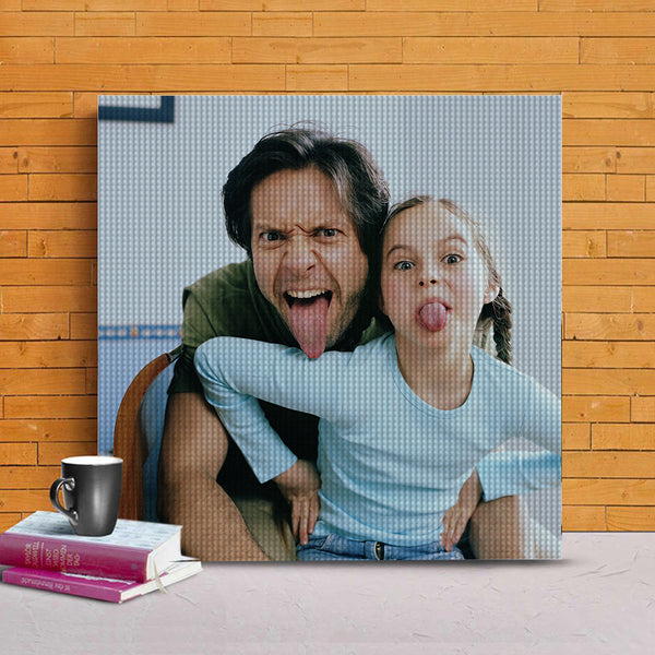 Father's Day Gift 5D DIY Custom Father Photo Full Square/Round Drill Diamond Painting-To My Best Father