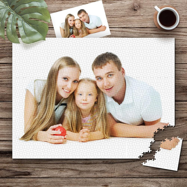 Custom Photo Jigsaw Puzzle - 35/150/300/500/1000 Pieces(Hot Sale)