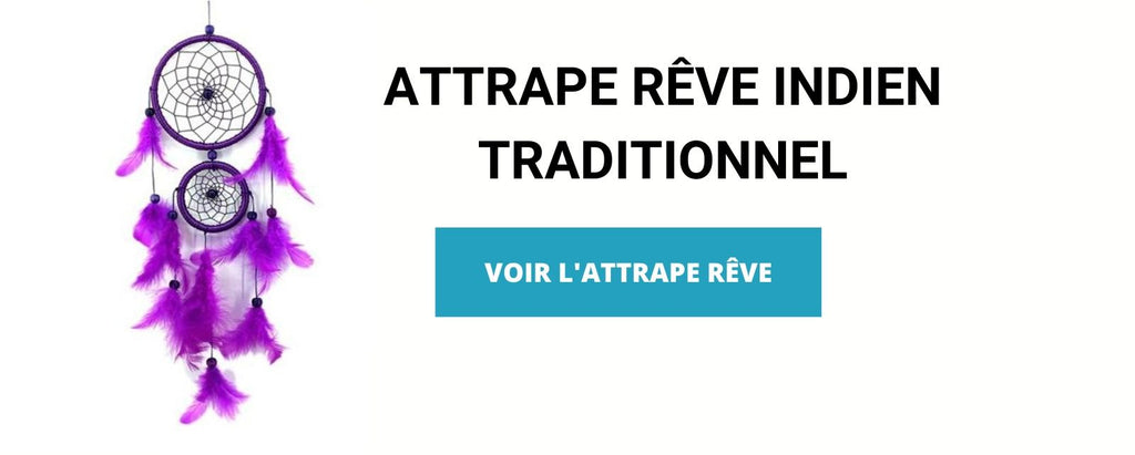ATTRAPE RÊVE INDIEN TRADITIONNEL