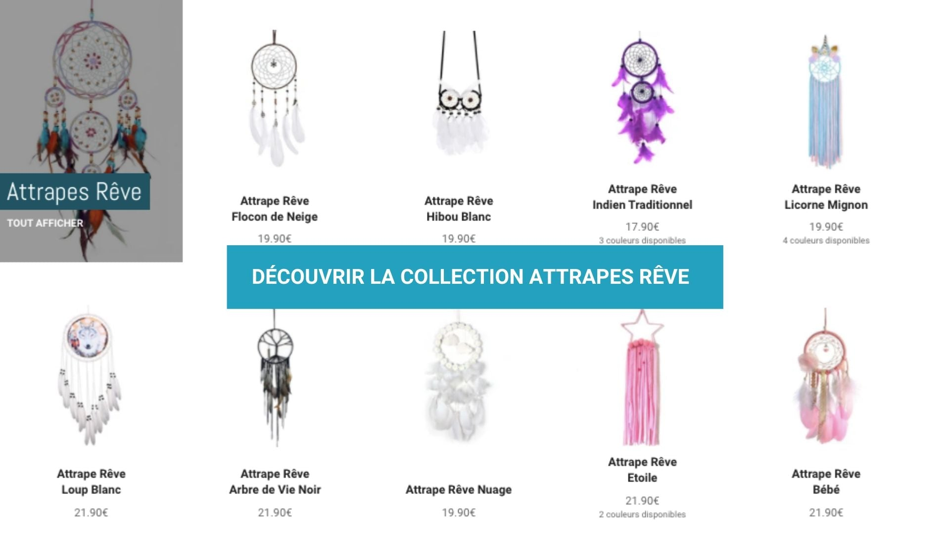 collection attrape reve
