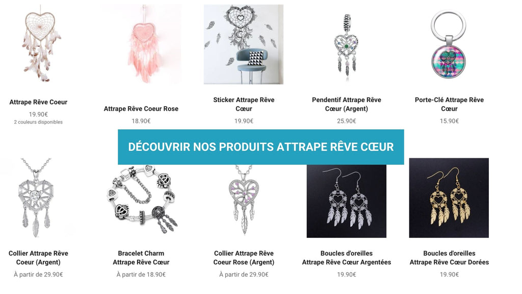 collection attrape reve coeur