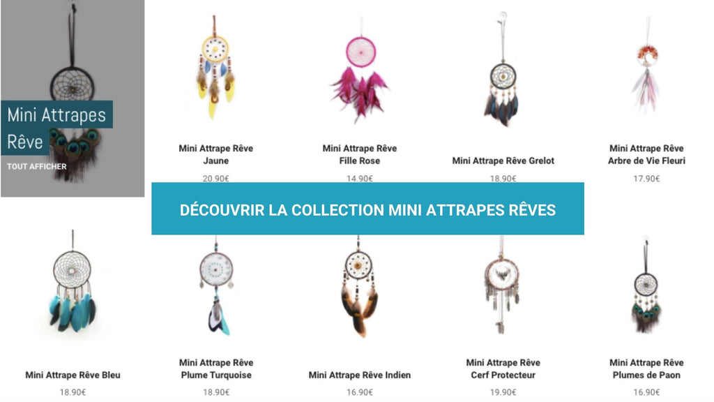 COLLECTION MINI ATTRAPES RÊVE