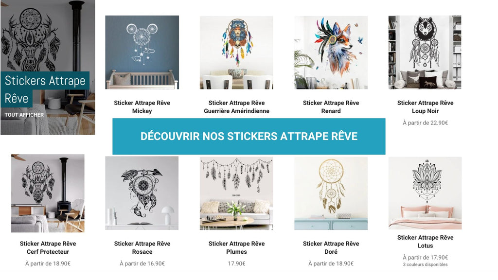 Stickers Attrape Rêve