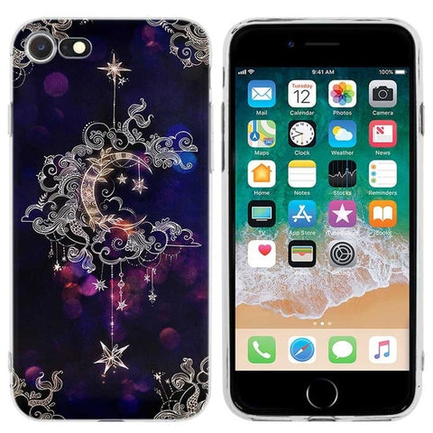 Coque iPhone Attrape Rêve Lune