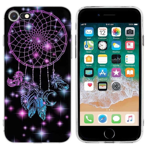 Coque iPhone Attrape Rêve Mandala