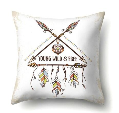 "Taie d'oreiller Attrape Rêve ""Young Wild and Free"""