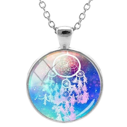 collier attrape reve galaxy