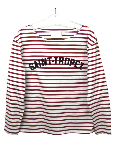 SAINT-TROPEZ STRIPED T-SHIRT