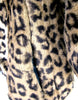 LEOPARD FAUX FUR CAPE