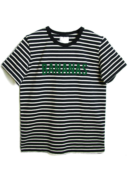 MEN?fS BANANAS STRIPED COTTON T SHIRT